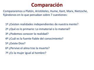 Comparaci n