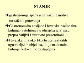 STANJE