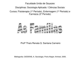 As Fam lias