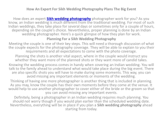 Sikh wedding photography 1
