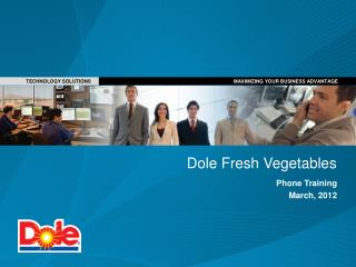 Dole Fresh Vegetables