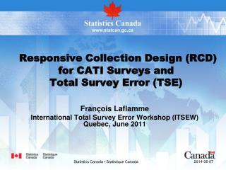 Statistics Canada   Statistique Canada