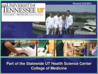 Part of the Statewide UT Health Science Center College of Medicine