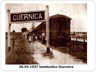 26.04.1937 bombardeo Guernica