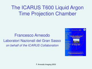 The ICARUS T600 Liquid Argon Time Projection Chamber