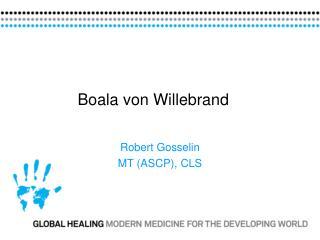 Boala von Willebrand