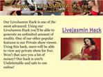 Livejasmin Credits Hack