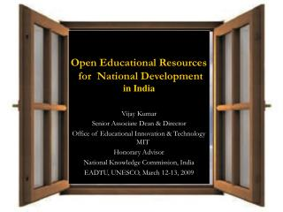 NETWORK-ENABLED OPEN EDUCATION NEO-Ed