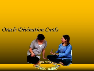 Oracle Divination Cards