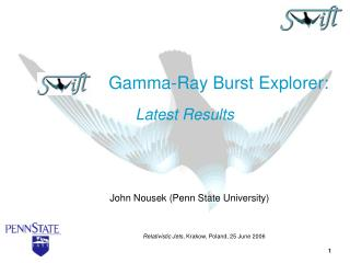 John Nousek Penn State University