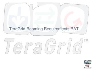 TeraGrid Roaming Requirements RAT