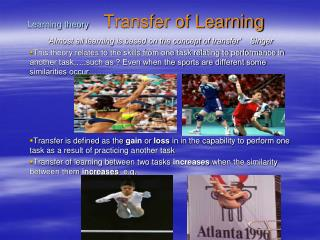 Learning theory   Transfer of Learning