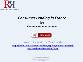 Consumer Lending Market in France Pinpoint growth sector
