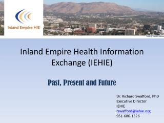 Inland Empire Health Information Exchange IEHIE