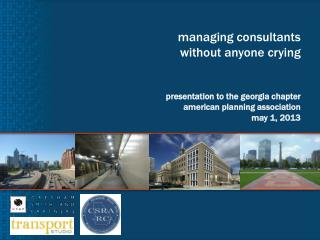 Managing consultants without anyone crying   presentation to the georgia chapter  american planning association may 1, 2