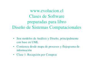 Son modelos de An lisis y Dise o, principalmente con base en UML Comienza desde mapa de procesos y flujograma de informa