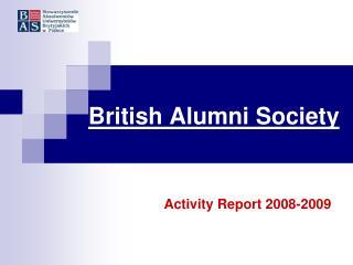 British Alumni Society