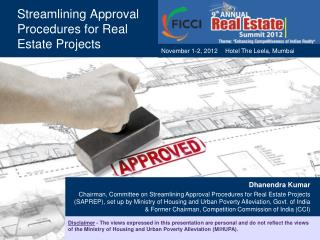 Streamlining Approval Procedures for Real Estate Projects
