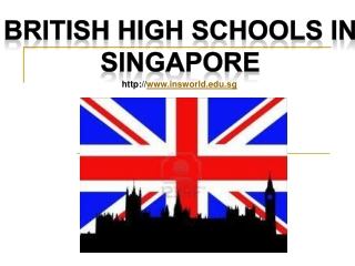 British High Schools in Singapore