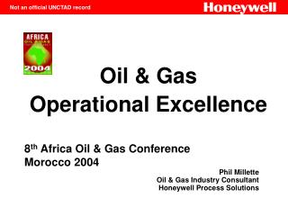 oil  gas  operational excellence