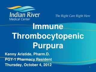 Immune Thrombocytopenic Purpura