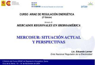 CURSO  ARIAE DE REGULACI N ENERG TICA 2  Edici n