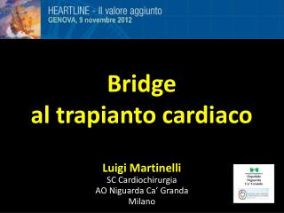 Bridge                                     al trapianto cardiaco