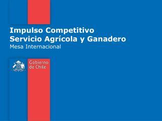 Impulso Competitivo Servicio Agr cola y Ganadero