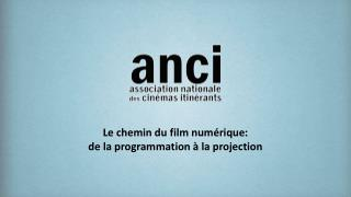 Le chemin du film num rique:  de la programmation   la projection