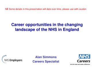Alan Simmons Careers Specialist