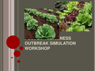 FOODBORNE ILLNESS OUTBREAK SIMULATION WORKSHOP