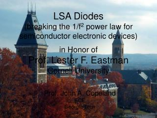 LSA Diodes breaking the 1