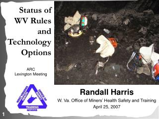 Status of WV Rules and Technology Options