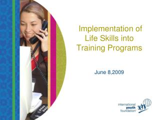 Implementation of Life Skills into Training Programs