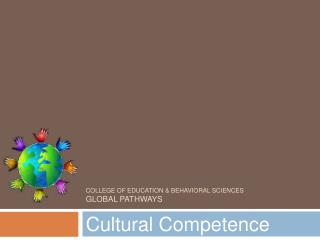 College of Education  Behavioral Sciences Global Pathways