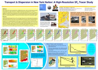 Transport  Dispersion in New York Harbor: A High-Resolution SF6 Tracer Study