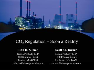 CO2 Regulation   Soon a Reality