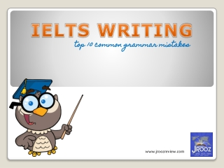 IELTS Writing - Common Grammar Mistakes