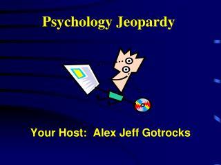 Psychology Jeopardy