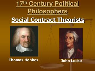 17th Century Political Philosophers