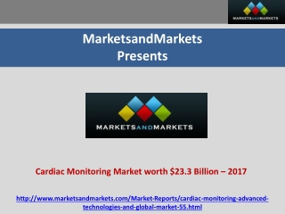 Cardiac Rhythm Management (CRM) Market by 2017