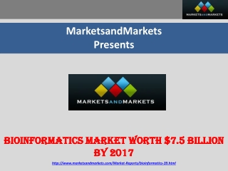 Pharmacogenomics Market By 2017