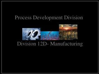 Process Development Division