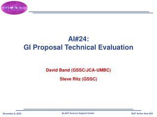 AI24: GI Proposal Technical Evaluation