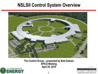 NSLSII Control System Overview