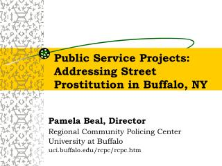 public service projects: addressing street prostitution in buffalo, ny