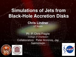 Simulations of Jets from Black-Hole Accretion Disks