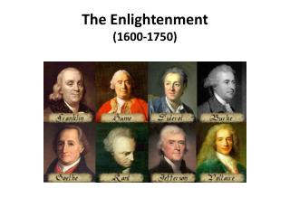 The Enlightenment 1600-1750