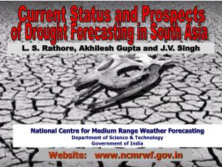 NATIONAL CENTRE FOR MEDIUM RANGE WEATHER FORECASTING ...