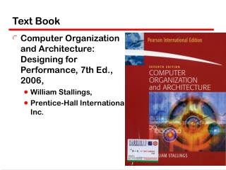 william stallings  computer organization  and architecture 7th edition